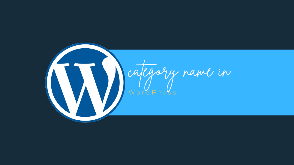 Wordpress display category image | get category name | get category name wordpress | wordpress the_category